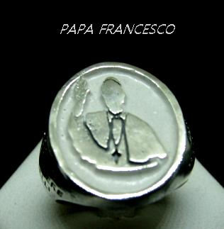 ANELLO PONTEFICE PAPA FRANCESCO